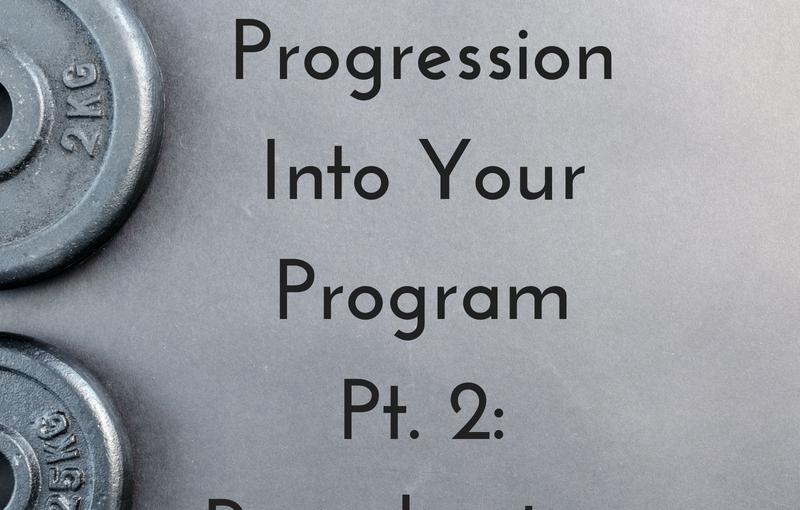 Designing Progression Into Your Program Pt. 2:Periodization